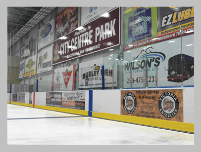 Dasher Boards - Westhills & ERC
