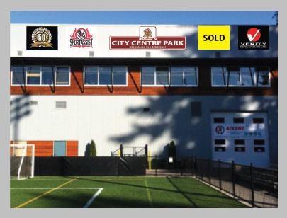 Exterior Signage at Westhills Stadium