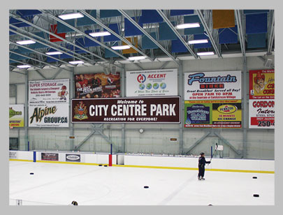 Wallboards at Westhills & Eagle Ridge Arenas